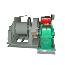 Hydropower station electric winch