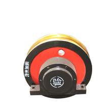 Electric industrial trolley crane wheels