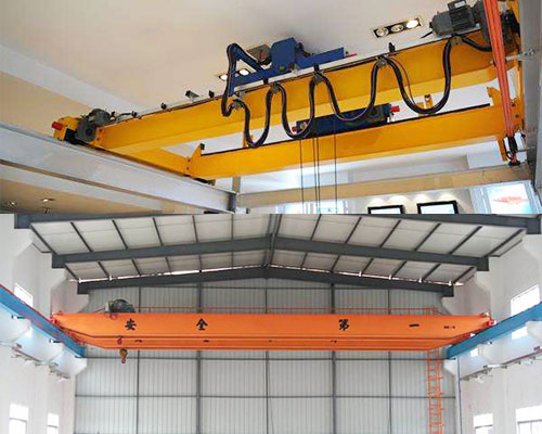 The difference between electric single beam and electric double beam bridge crane