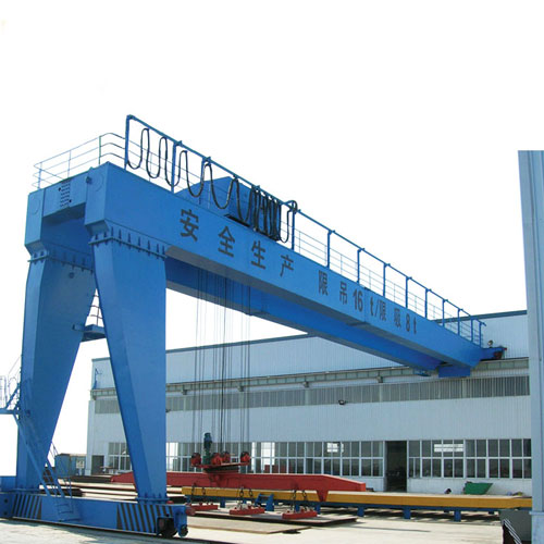 Semi type workshop gantry crane for sale