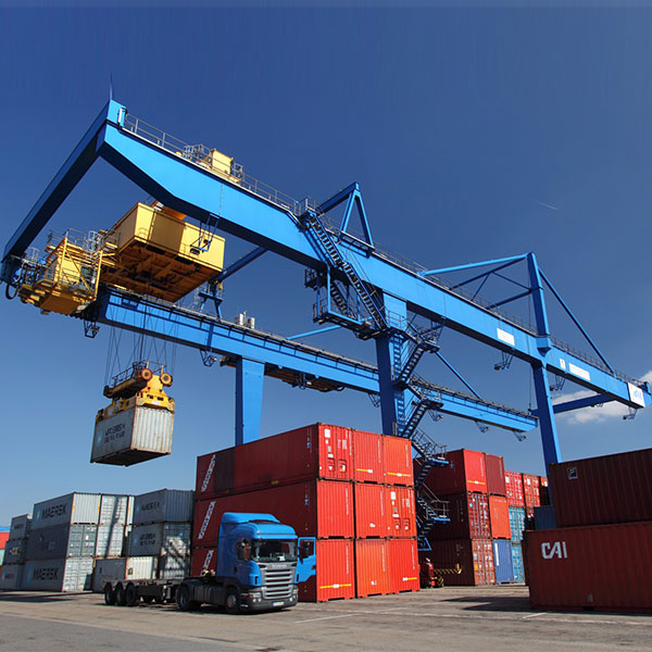 Rail Container gantry (RMG) cranes