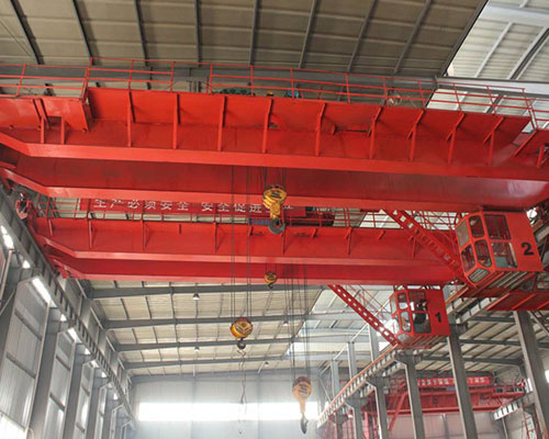 Double girder bridge crane operating procedures