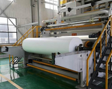 PP meltblown non-woven fabric production line